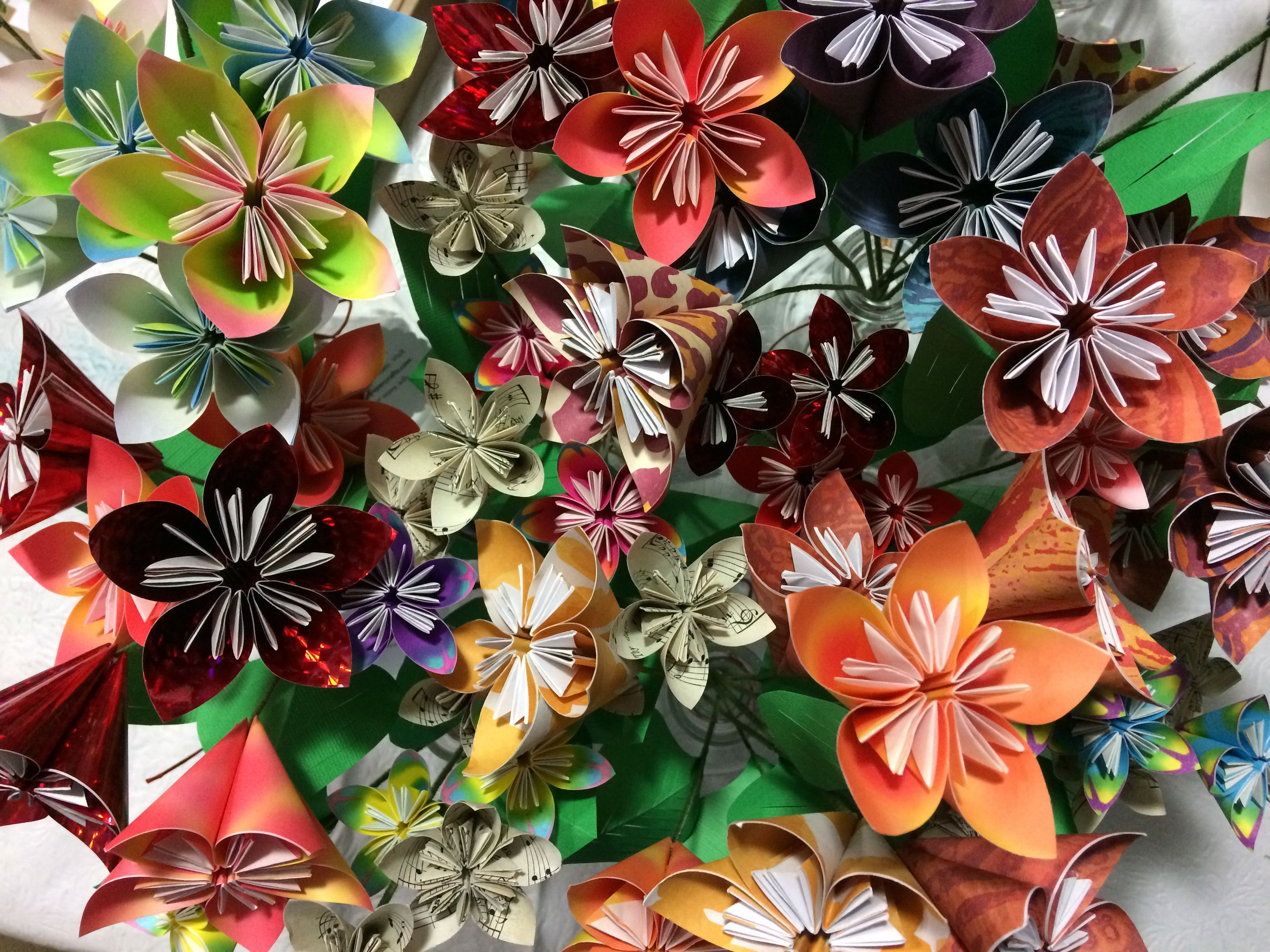 Origami Flowers Events King County Library System