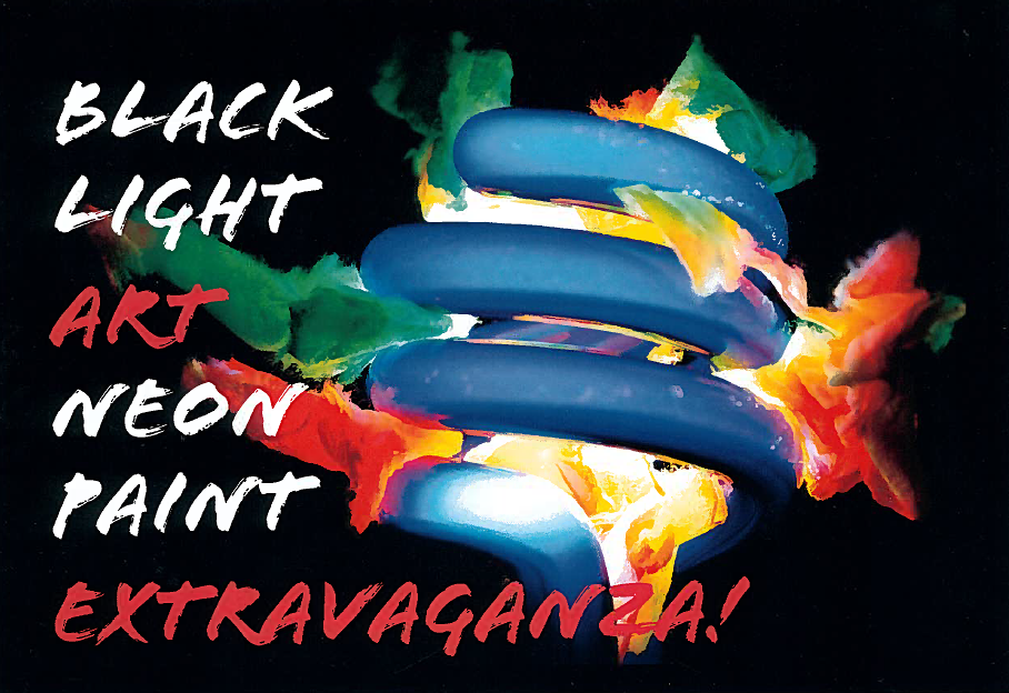 Black Light Art Neon Paint Extravaganza! | Events | King