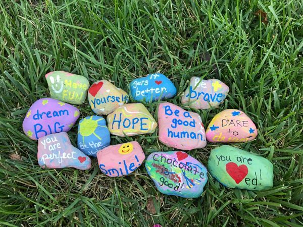 Image result for kindness rocks images