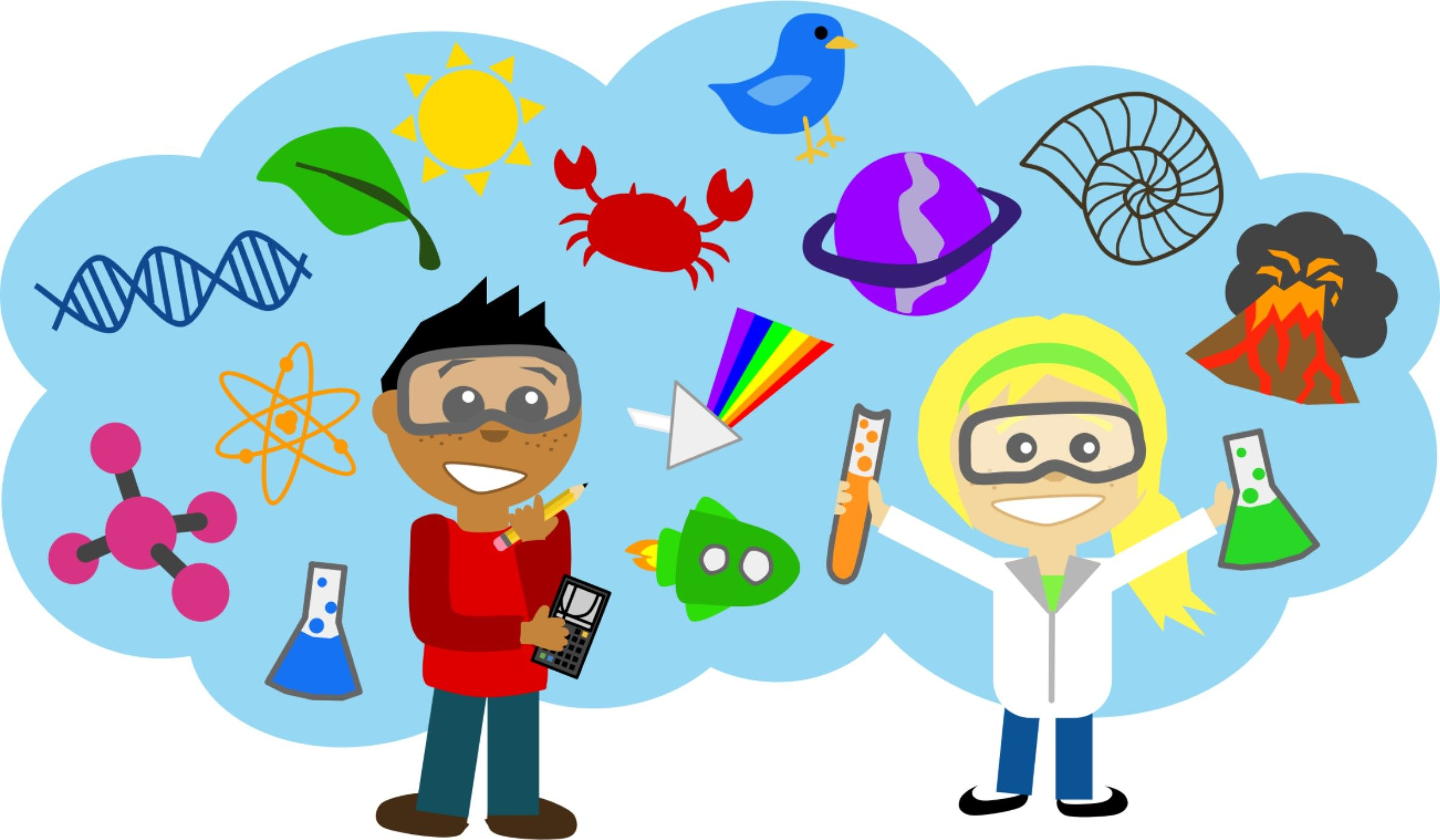 Image result for science and technology cartoon