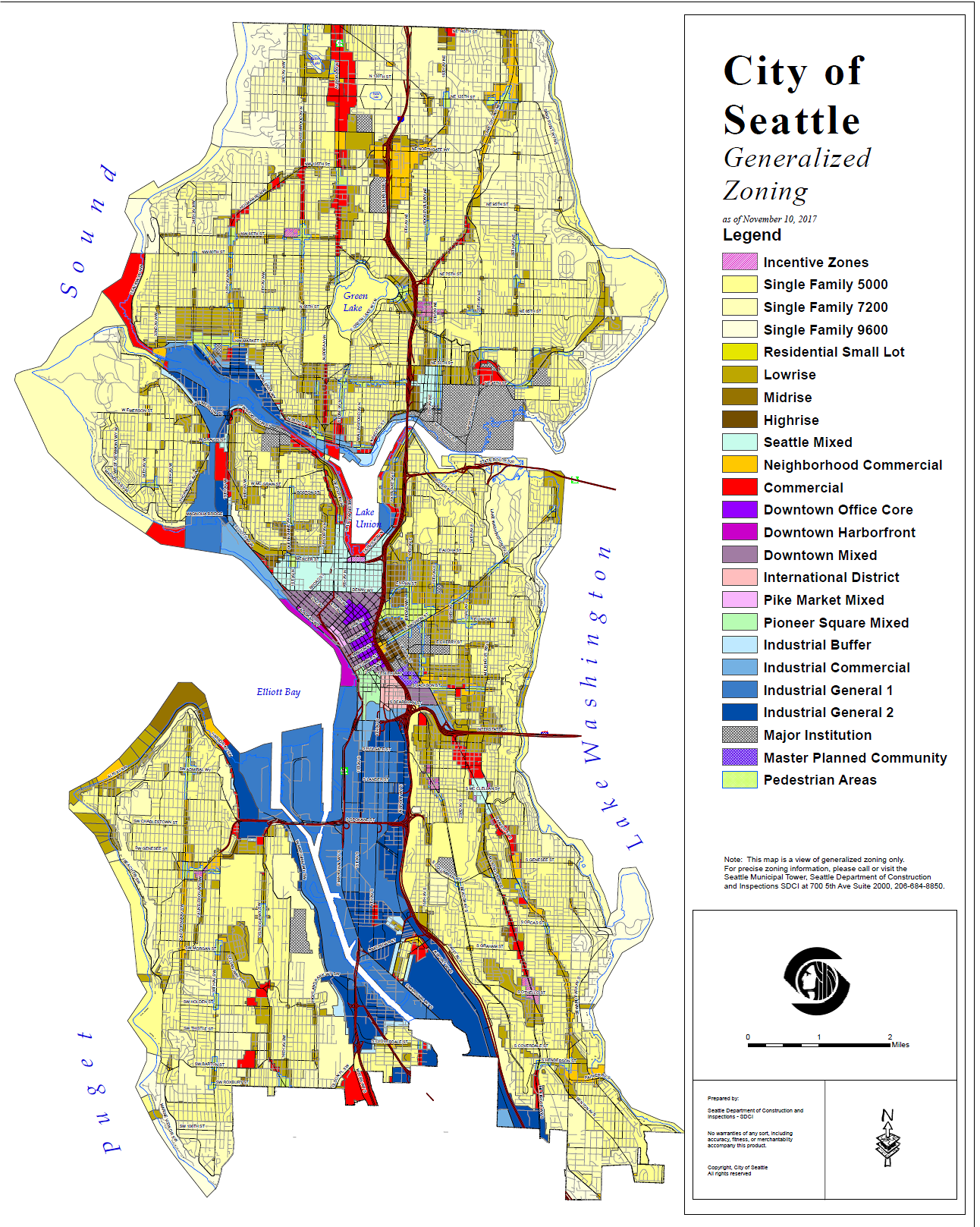 City Of Seattle Zoning Map Zoning and Segregation in the City of Seattle | Events | King